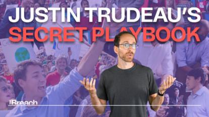 The secret playbook behind Justin Trudeau's success